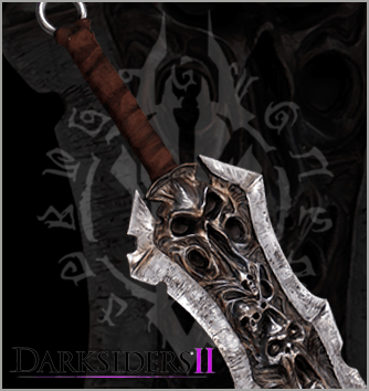 Darksiders II Sword, replica, Chaoseater, rare life size collectible